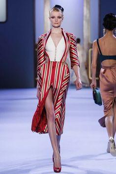Ulyana Sergeenko Spring 2014: Everything Goes Decadent | The Chic | Fashion Forecast Site