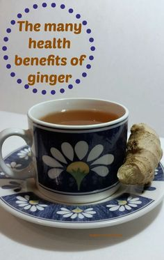 The many health benefits of adding ginger to your diet