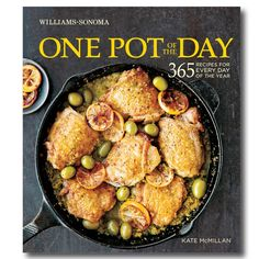 Williams-Sonoma One Pot of The Day Cookbook http://rstyle.me/n/drcxupdpe