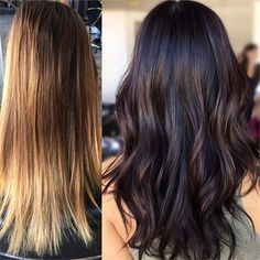 """Going Chocolate: Tone """"Back"""" Utilizing Existing Dimension - Hair Color - Modern Salon Perfect Blonde Hair, Chocolate Hair, Chocolate Color, Brown Ombre Hair, Hair Cleanse, Winter Hairstyles, New Hair Colors, Hair Color Balayage, Shoulder Length Hair"""