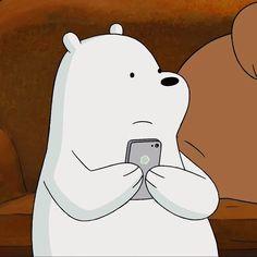 ♥️아이스베어 특집♥️-(5) Ice Bear We Bare Bears, 3 Bears, Cute Bears, Cartoon Profile Pictures, Bear Pictures, Cute Funny Pics, We Bare Bears Wallpapers, Happy Cartoon, Bear Wallpaper