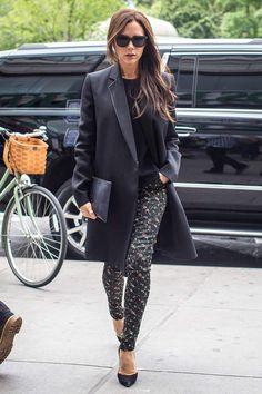 Top looks. De plataformas, pantalones 'culottes' y Victoria Beckham © Gtres Online/ Cordon Press