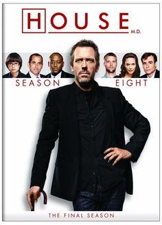 Dr House saison 8 en dvd/blu-ray
