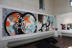 "Lilian Doerge exhibition ""Kraftvaerk"" 2013."