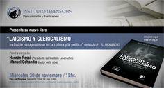 """Presentación del libro """"Laicicismo y Clericalismo"""""""