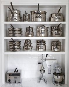 Space Saving Storage Strategy: The Nesting Effect // Live Simply by Annie