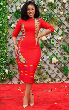 How to Look Classy Like Serwaa Amihere - 30+ Outfits in 2021 Latest African Fashion Dresses, African Print Dresses, African Dresses For Women, African Print Fashion, African Attire, Women's Fashion Dresses, African Prints, 30 Outfits, Curvy Girl Outfits