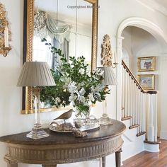 Entryway / Foyer in The Welcoming House: The Art of Living Graciously: Jane Schwab, Cindy Smith, Bunny Williams