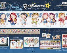 The Story of Zodiac 1 schema punto croce SODAstitch SO-G50