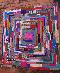 quilt by Flora Introse (2004)  from Mainalli village, India, photo by Henry John Drewal
