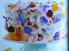 Flowerfetti Cake via InStyle