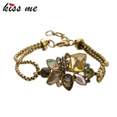sl00235 New Styles Statement Fashion Women Jewelry Elegant Resin Stone Plant Charming Bangles & Bracelets Like and share!Visit our store ---> www.servjewelry.c... #shop #beauty #Woman's fashion #Products #homemade