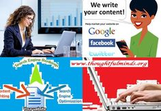 #Our SEO optimized #content writing services increase #awareness and builds credibility because in our content every word is #unique and we also provide #plagiarism free content.