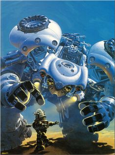 "Robby the Robot from a new perspective (""Les Horizons Divergents"" by Manchu)"