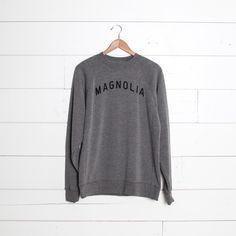 """Magnolia"" Sweatshirt - Magnolia Market | Chip & Joanna Gaines"