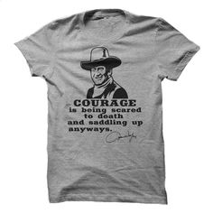 John Wayne – Custom T T Shirt, Hoodie, Sweatshirts - silk screen #shirt #fashion