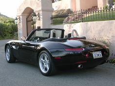 The BMW Z8 is probably the most beautiful convertible BMW ever made including the 507.  It is as contemporary  as can be laden with state of the art electronics while maintaining the air of a retro classic.  The interior and exterior are masterpieces of minimalistic stunning design. With awesome performance the Z8 defines the pinnacle   of automotive fine design.