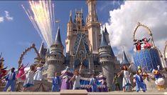 Dream Along With Mickey Castle Show - Magic Kingdom - Walt Disney World HD