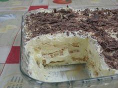 Receita Torta de bolacha com creme de manteiga