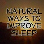 How to Improve Sleep Naturally