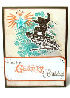 How to make your stamped images pop against white textured paper