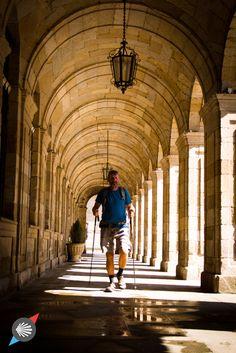 Last steps.  #CaminodeSantiago #SantiagodeCompostela #pilgrim photo made by Katarzyna Kędzierska