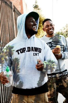 Schoolboy Q. Kendrick Lamar. Top Dawg Entertainment sweatshirt. New Hip Hop Beats Uploaded EVERY SINGLE DAY http://www.kidDyno.com