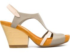 Allegra is a stylish women's sandal that comes with a wooden wedge adding a natural touch. It comes in both open and closed styles and in a number of colour options.