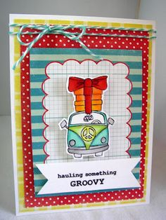 something groovy - BRAND NEW {ippity} release from unity stamp company created by unity design team member stephanie muzzlin