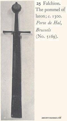 Cruciform Hilted Falchion