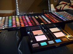 I love my Sephora Studio Blockbuster Palette Makeup Kit ($99.99)