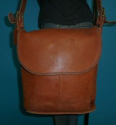 Vintage COACH bag. The stains give it character!