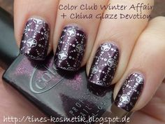 Color Club Winter Affair + China Glaze Devotion