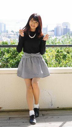 - Her Crochet Asian Cute, Cute Asian Girls, Pretty Girls, Cute Fashion, Asian Fashion, Teen Fashion, Womens Fashion, Classy Work Outfits, Leg Thigh