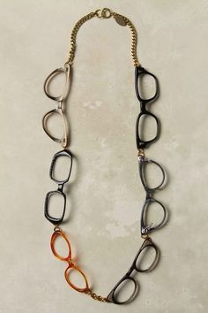 spectacle necklace. kate spade.