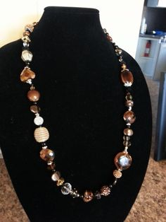 . Beaded Jewelry, Beaded Necklace, Amethyst Necklace, Beading, Jewelry Making, Chain, Collares Largos, Beaded Collar, Beads