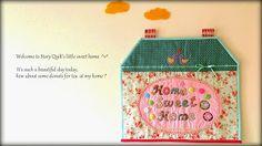 Home sweet home mini quilt ^v^