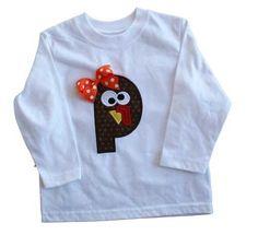 Turkey Applique Shirt