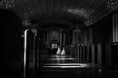Classic black and white wedding photography | Juliana Laury Photography