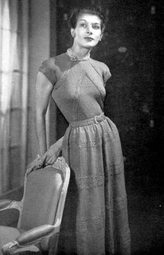 Vintage knitting pattern Maybe one day!!