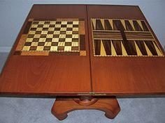inlay backgammon/chess or checker board