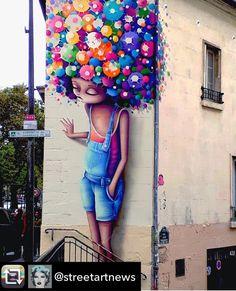 "urbarch on ""Amazing Mural Street Art by Vinnie Graffiti"" Murals Street Art, 3d Street Art, Street Art Graffiti, Urban Street Art, Graffiti Murals, Amazing Street Art, Mural Art, Street Artists, Amazing Art"
