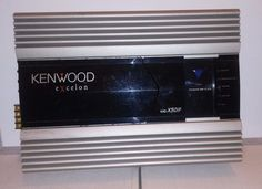 Kenwood Excelon Kac-x501f Rare Amplifier #Kenwood