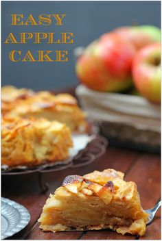 Las libretas de Calohe: Pastel de manzana fácil