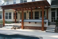 Southwest seting by Outdoor Amenities Pool Co.
