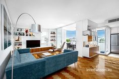 Wall Units | Interfar - Residential - Queensland blackwood Veneer and polyurethane wall units