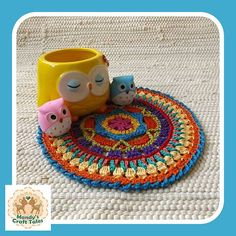 Crochet Mandala Mandala Crochet Doily Doily Crochet Table Mandala Crochet, Crochet Doilies, Crochet Table Mat, Centre, My Etsy Shop, Cushions, Colours, Shapes, Stitch