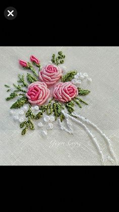 Embroidery Hoop Kenya under Embroidery Stitches Daisy Chain wherever Embroidery Floss Kumihimo Bullion Embroidery, Brazilian Embroidery Stitches, Hand Embroidery Videos, Hand Embroidery Flowers, Hand Embroidery Stitches, Silk Ribbon Embroidery, Hand Embroidery Designs, Embroidery Kits, Cross Stitch Embroidery