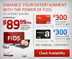 verizon fios wireless router coverage
