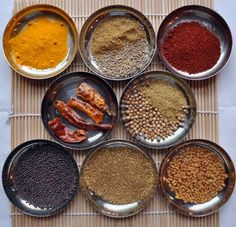 How to Build an Indian Pantry: Dry Spices (and a recipe for coriander spiced potatoes ~ bataka nu shak)   The Hathi Cooks